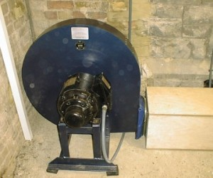 Refurbished blower at St Stephen's Twickenham